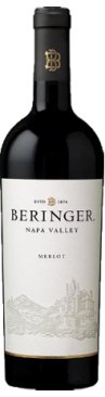 6 bottles of Beringer Napa Valley Merlot 2015